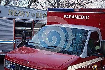 Heavy duty fire vehicles