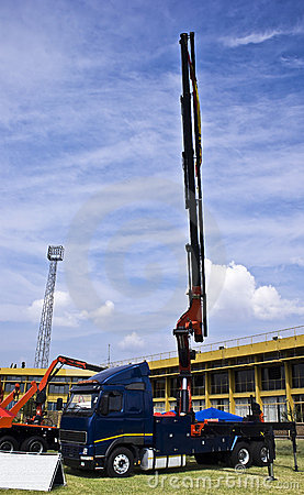 Heavy Duty Hydraulic Lifter Crane