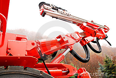 Heavy duty mine drill