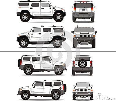 Heavy Duty SUV Big truck