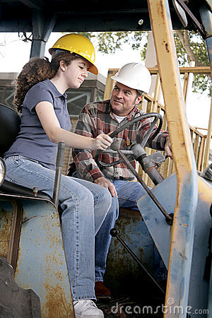 Free Heavy Equipment Lessons Royalty Free Stock Image - 1854916