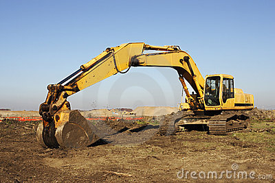 Heavy Excavation Equipment