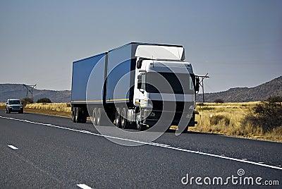Heavy Goods in Transit - Long Haul Transport