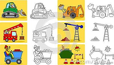 Heavy industry machineries