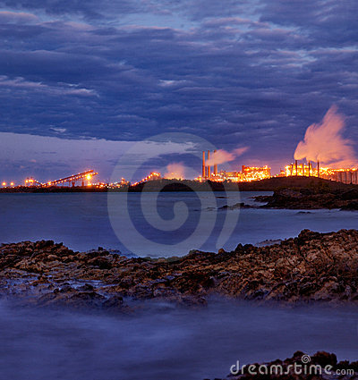 Heavy Industry near Gladstone, Queensland