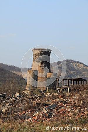 Free Heavy Industry Ruins Stock Photo - 12661680