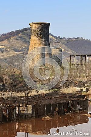 Free Heavy Industry Ruins Royalty Free Stock Photo - 9788175