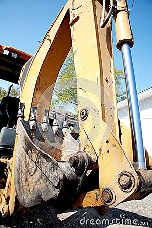 Heavy Machinery: Excavator Arm