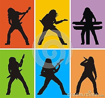 Heavy metal musicians