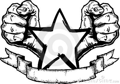 Heavy Metal / Rock Banner Tatt