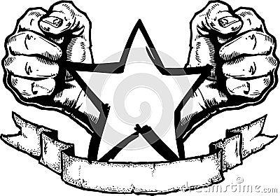 Heavy Metal / Rock Banner Tatt