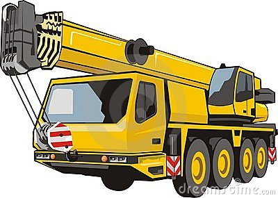 heavy mobile crane