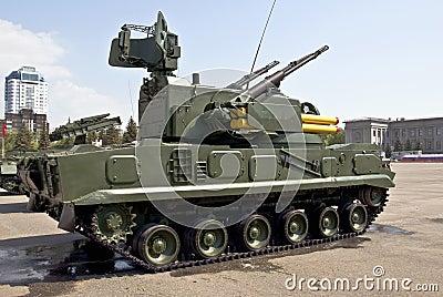 Heavy Russian tank