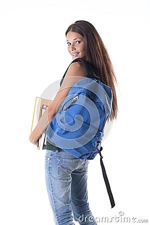 Heavy schoolbag!