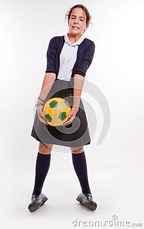 Heavy soccer ball