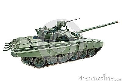 Heavy tank isolated
