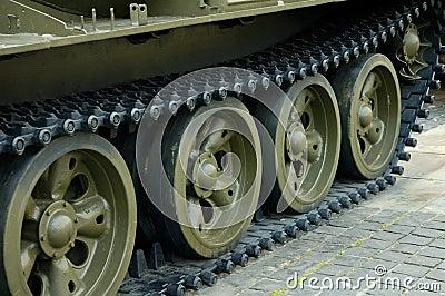 Heavy tank track
