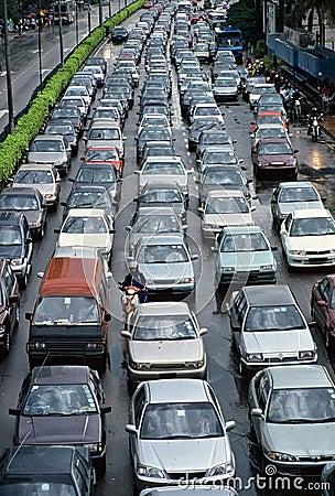 Free Heavy Traffic Royalty Free Stock Photos - 247758
