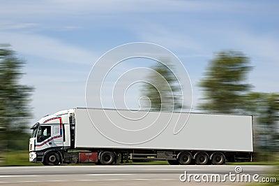 A heavy truck