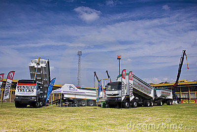 The Heavy Weight Expo - Renault Trucks Editorial Stock Image