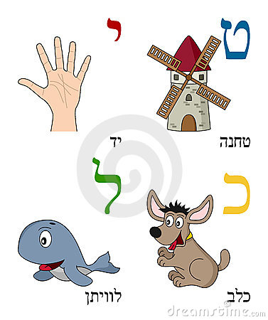 Hebrew Alphabet for Kids [3]