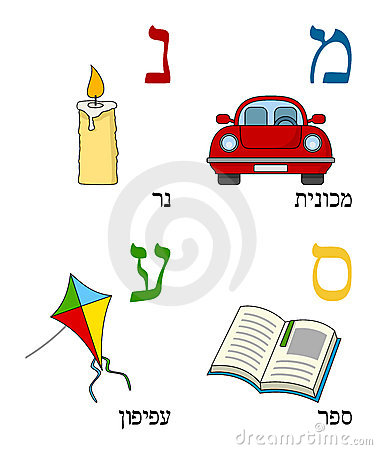 Hebrew Alphabet for Kids [4]