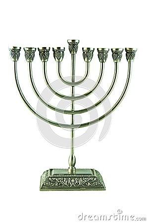 Hebrew Hanukkah Menorah