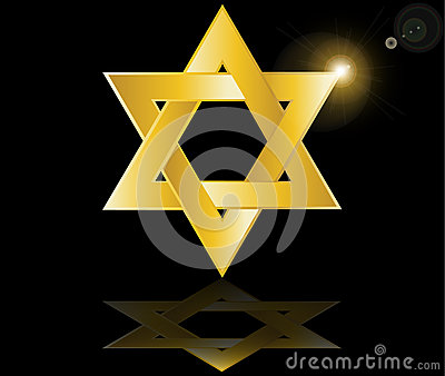 Hebrew Jewish Star of david