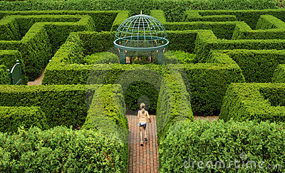 Hecke-Labyrinth A