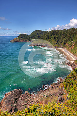 Free Hecta Head Lighthouse View Royalty Free Stock Images - 25760509