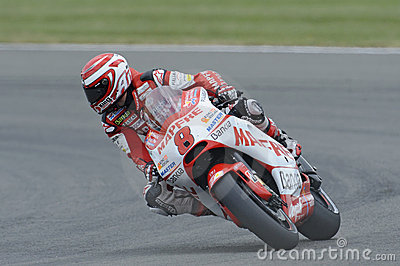 Hector barbera, moto gp, 2011, Editorial Stock Photo