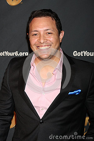 Hector Luis Bustamante arrives at the Launch of Got Your 6 Editorial Stock Photo
