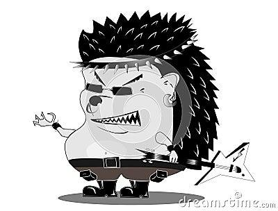Hedgehog musician
