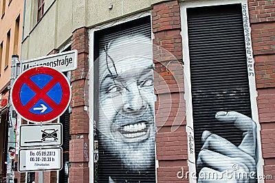 Heeere s Kreuzberg! Editorial Stock Image