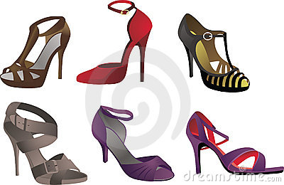 Heels, Pumps & Stilettos With Straps