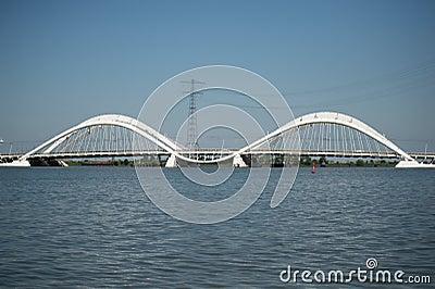 Heermabrug ijburg nederland redactionele stock foto afbeelding 56675083 - Eigentijdse design ingang ...
