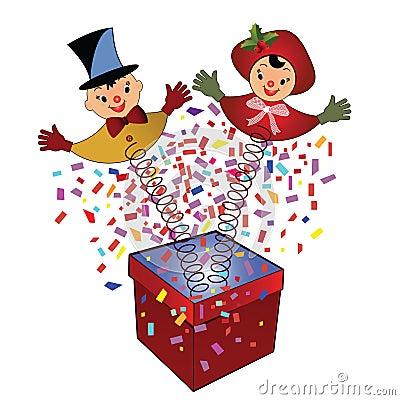 Hefboom-in-de-doos - stuk speelgoed
