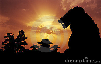 Heian Temple sunset