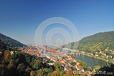 Heidelberg in autumn season