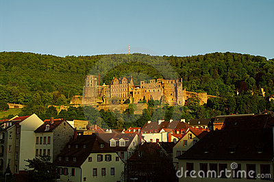 Heidelberg castle at day