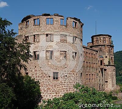 Free Heidelberg Castle Ruins Stock Photography - 968182