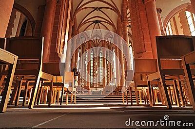 Heidelberg. Church of the Holy Spirit interior