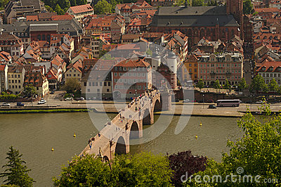 Heidelberg s view from above, Germany
