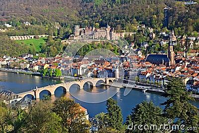 Heidelberg at spring