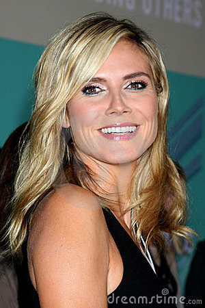 Heidi Klum Editorial Stock Image
