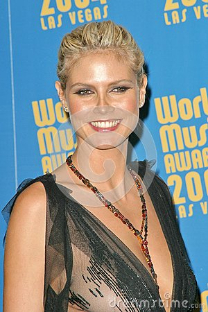 Heidi Klum Photo éditorial