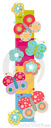 Free Height Chart For Kids Stock Photos - 17206053