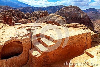Heiliger Platz in der Wüste