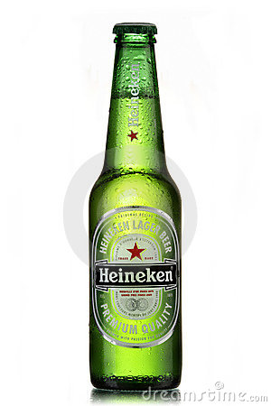 Heineken beer Editorial Stock Image