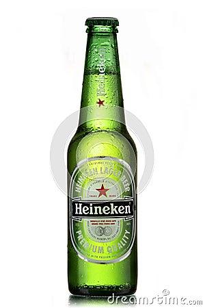 Heineken beer Editorial Stock Image